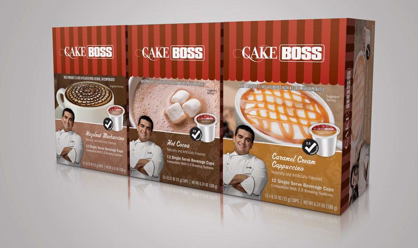 Cake Boss Indulgent Packaging